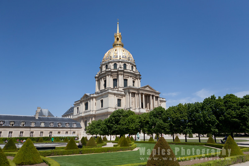 The church at the Invalides