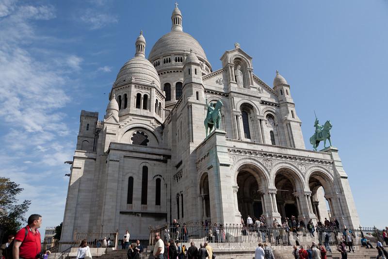 Portico of Sacré-Cœur