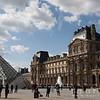 I.M. Pei's Pyramid atop Hall Napoleon