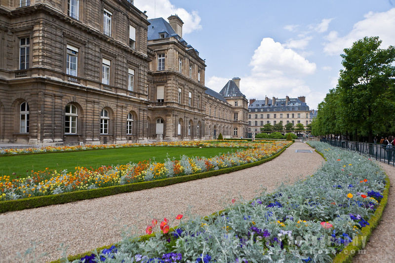 Flowers, Palais du Luxembourg (Seat of French Senate)