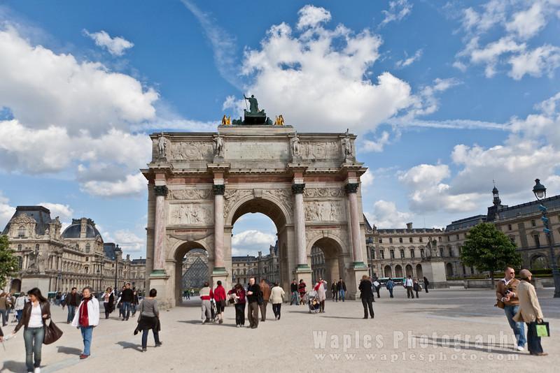 Napoleon's Arc de Triomphe du Carrousel, 1805