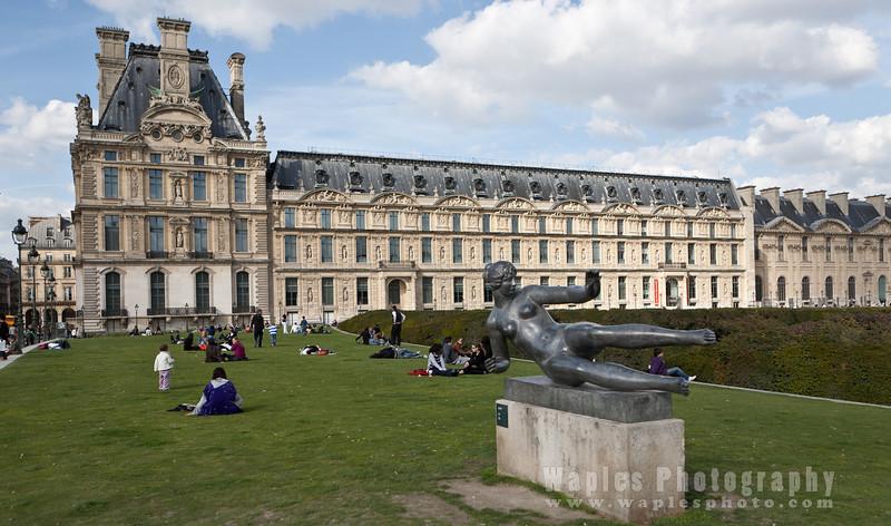 Richelieu Wing, Musée du Louvre