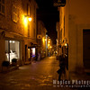 Biot at night