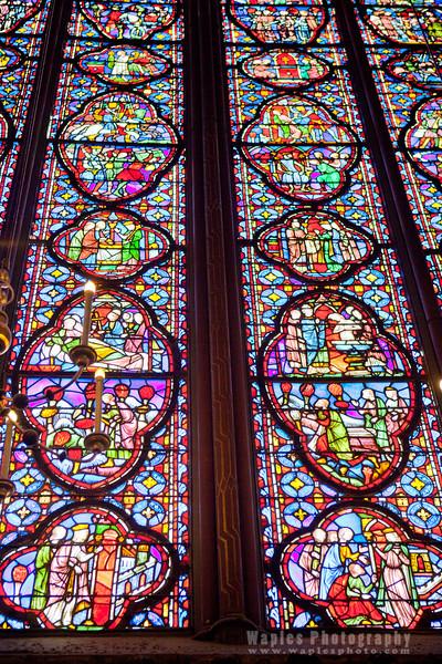 Magnificent 50-ft Windows, Sainte-Chapelle