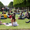 Enjoying the sun, Jardin du Luxembourg