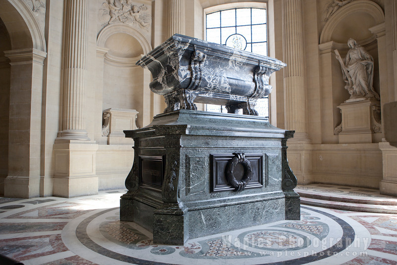 Crypt of Napoléon II, son of Napoléon B.