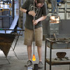 Glass making in Biot