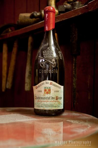 Wine, Château Banneret of Châteauneuf-du-Pape region