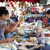 Locals at the Market, L'Isle-sur-la-Sorgue