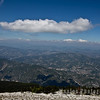 View northeast from Mont Ventoux