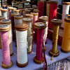 Giant spools of thread