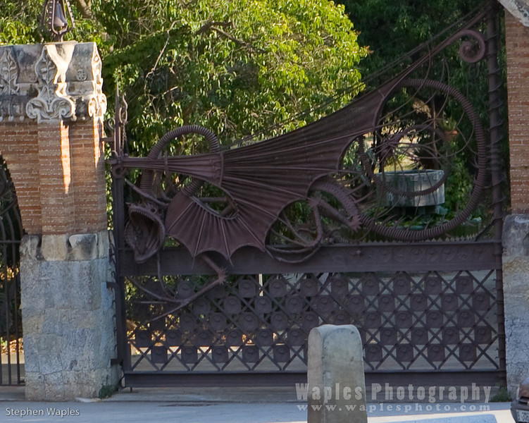 Serpent Gate designed by Gaudi