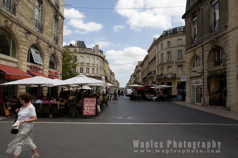 Boulevard in Bordeaux