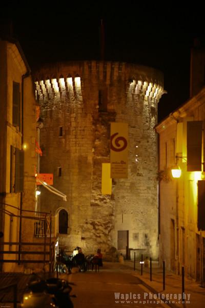 Tour Mataguerre at Night