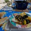 Bouillabaisse with Baguette