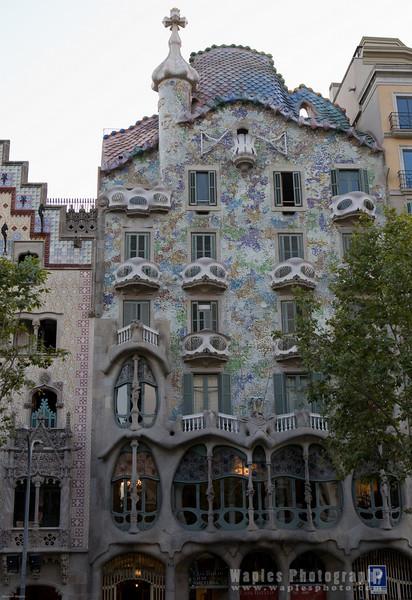 House designed by Antoni Gaudi, Casa Batll—