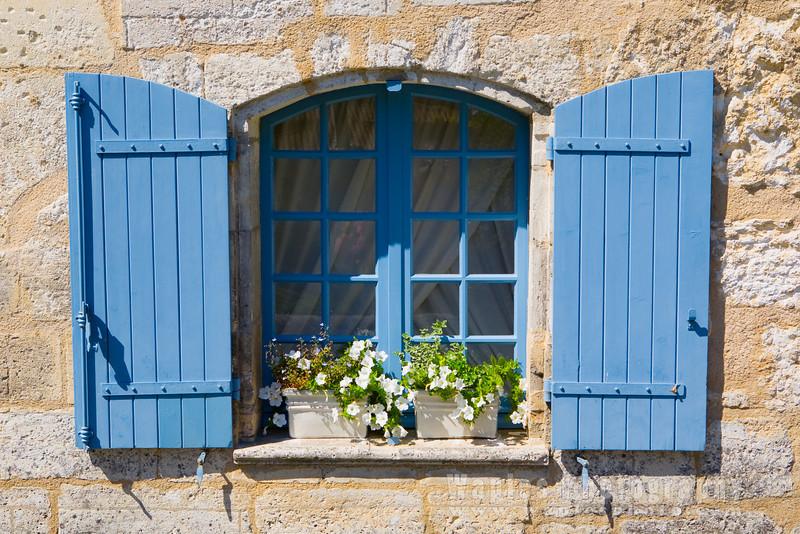 Window Shutters (Volets) in Blue