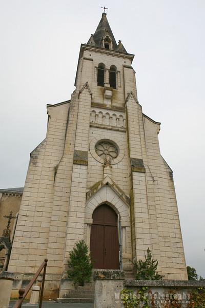 Church at Ch‰teau-l'ƒvque