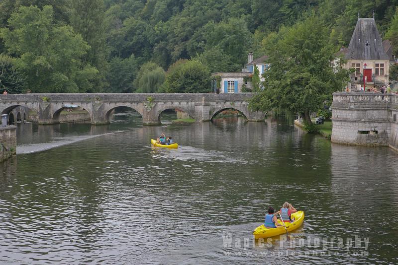 Kayaking on La Dronne