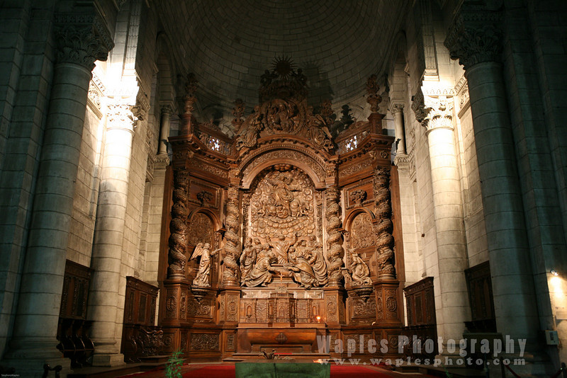 Inside St. Front's Cathedral