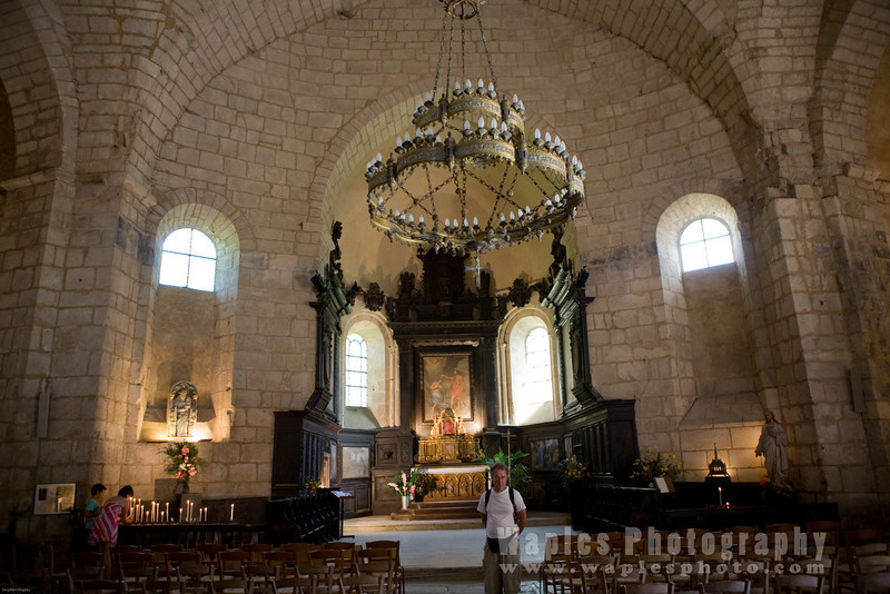 Inside Saint John the Baptist's Church