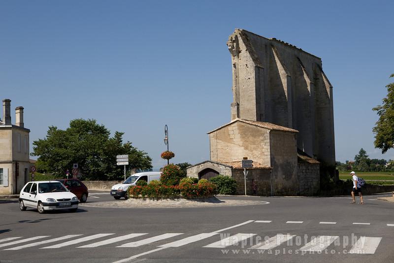 1st Millenia Church ruins