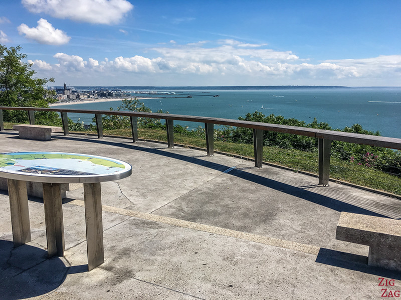 lookout Le Havre table d'orientation