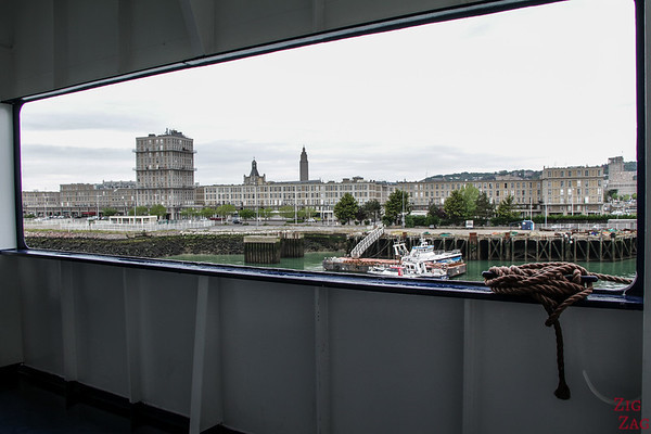 Arriving in the Le Havre Cruise Port 2