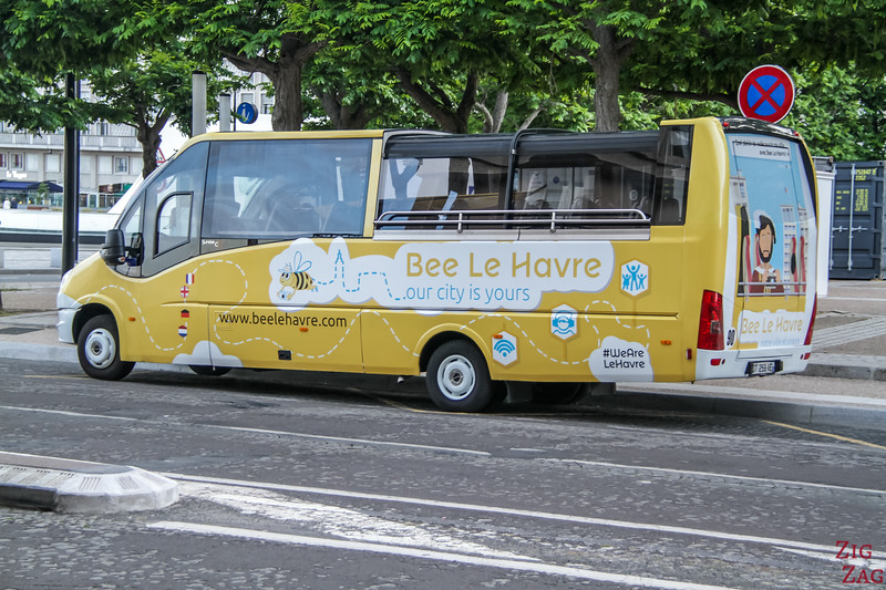 Bee Bus around LE Havre