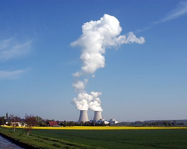 One of the nuclear power plants that supply over 70% of the electric power in France.