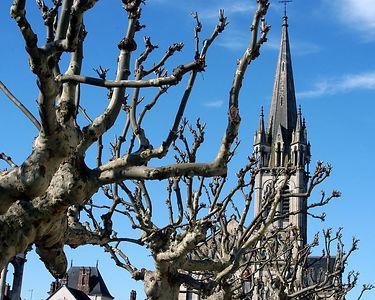 Beautiful church in the village of Briare.