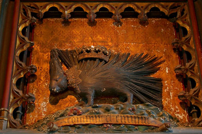 Chateau de Chaumont Hedgehog