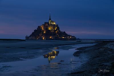 Mont St Michel, Manche