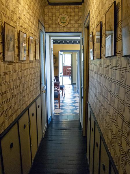 Ravel house hallway.