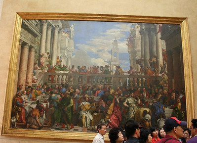 The Wedding Feast at Cana by the late-Renaissance or Mannerist Italian painter, Paolo Veronese.