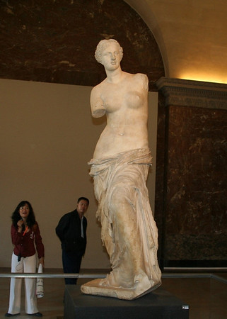 The Aphrodite of Milos, better known as the Venus de Milo, is an ancient Greek statue and one of the most famous works of ancient Greek sculpture.