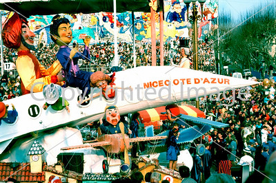 NICE, FRANCE, CARNiVAL OF NICE,  FLOAT, BEFORE LENT Tradition