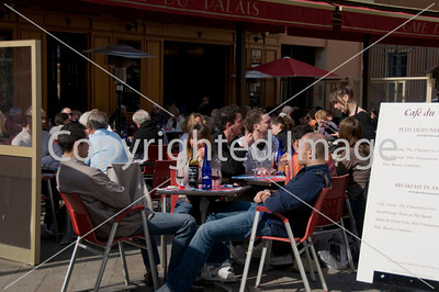 Nice, France, French Cafe/French Brasserie Restaurant, Sidewalk Crowded terrace on Quai des Etats Unis, L'Eden, Pizzeria, .
