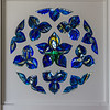 La Rose Bleue (stained glass)