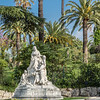 Monument to Queen Victoria in Cimiez, in the hills above Nice