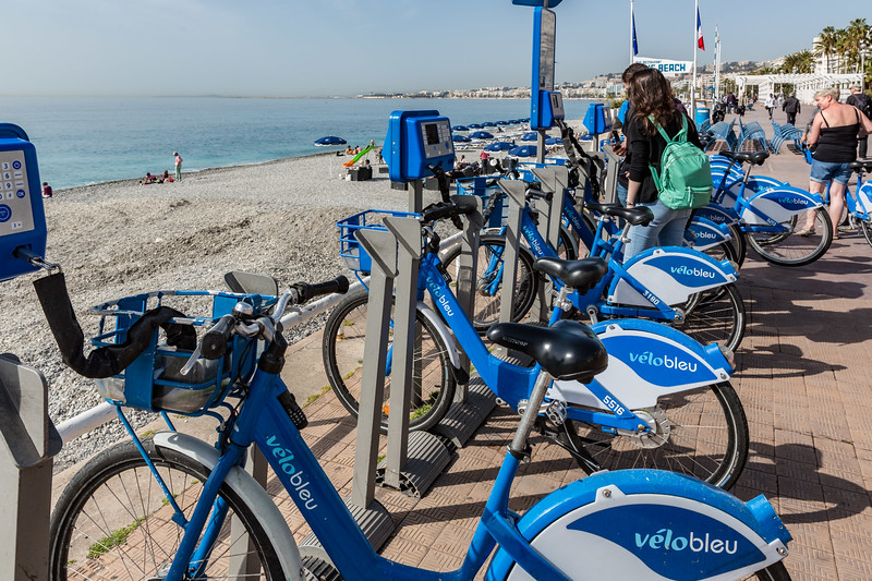 The integated bike hire scheme
