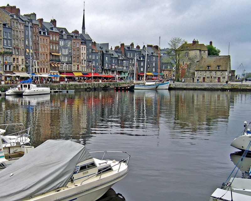 We stayed in the quaint and colorful village of Honfleur