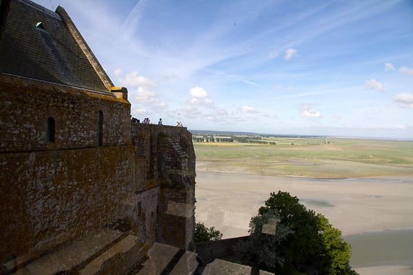 Another view of the abbey looking towards the horizon