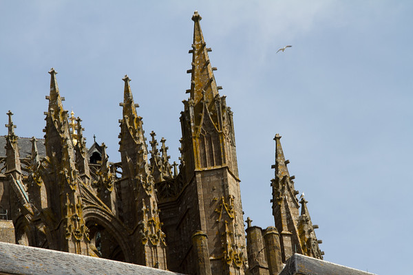 Steeples... and a bird.  Amazingly I have a number of images with birds flying thru them...some intentional, some by pure luck.