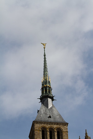 Steeple on top of the abbey