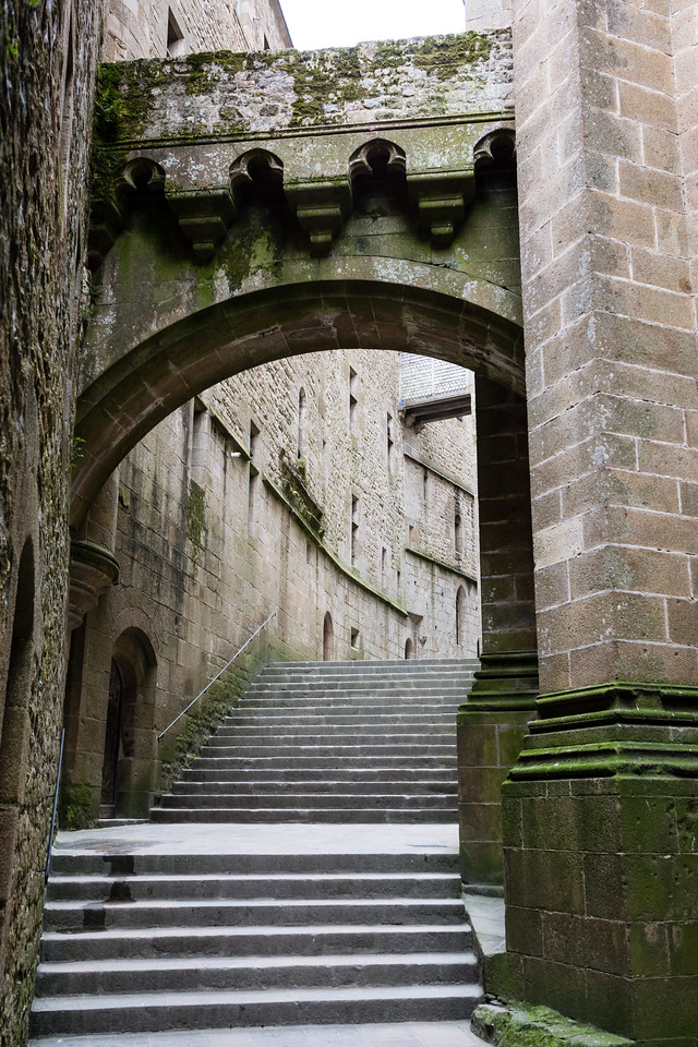 Mont-St-Michel, Normandy, France, Europe