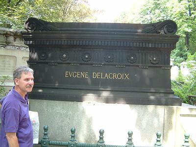 """Eugene Delacroix - Artist """"in motion"""""""