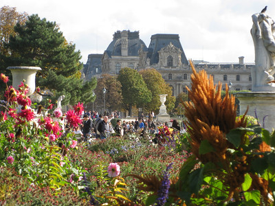 Folks were right, autumn is a nice time in Paris