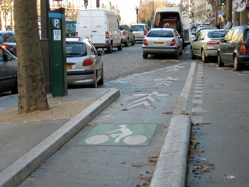 Paris Bike Lane