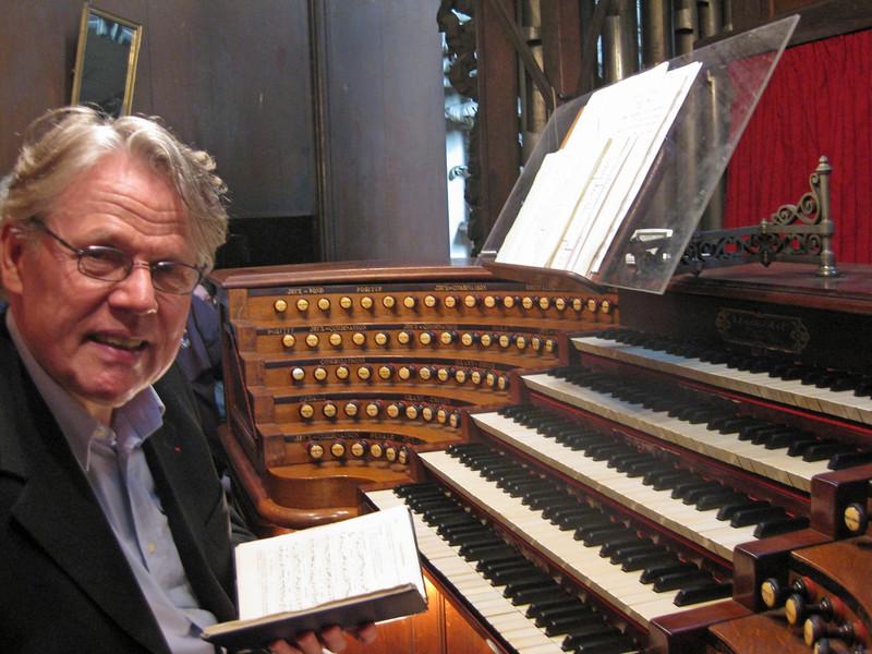 Organist Daniel Roth 2009-09-20_12-19-57